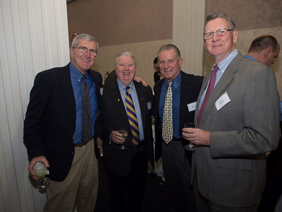 Rich Deneen, Bill Conry, Mike Lynch and Jim Collins, PMA Class of 1961