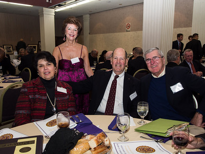 Marie Turner, Sharon Lynch, Kevin Turner '61 and Rich Deneen '61