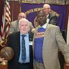 Winner of the Len Elmore signed basketball