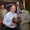 Winner of the Kareem Abdul Jabbar signed basketball