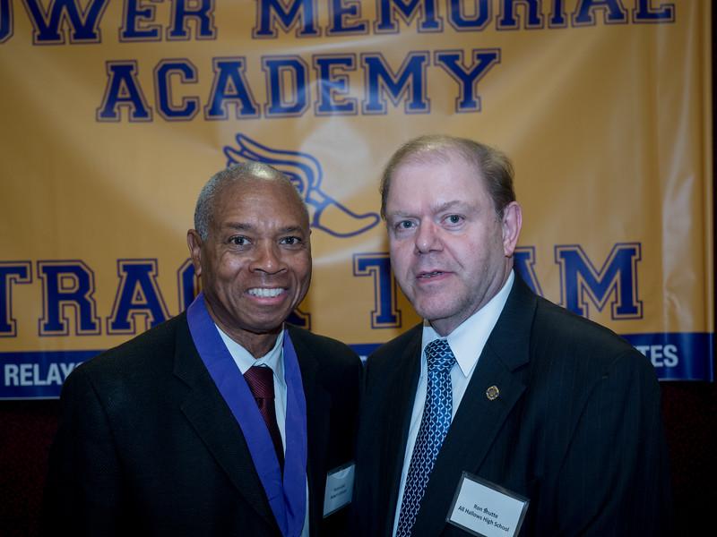 Judge Johnson and Ron Stutte