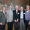 Mike Lynch, Jim Collins, John Minton, Gerry McGee and Rick Deneen, Class of 1961