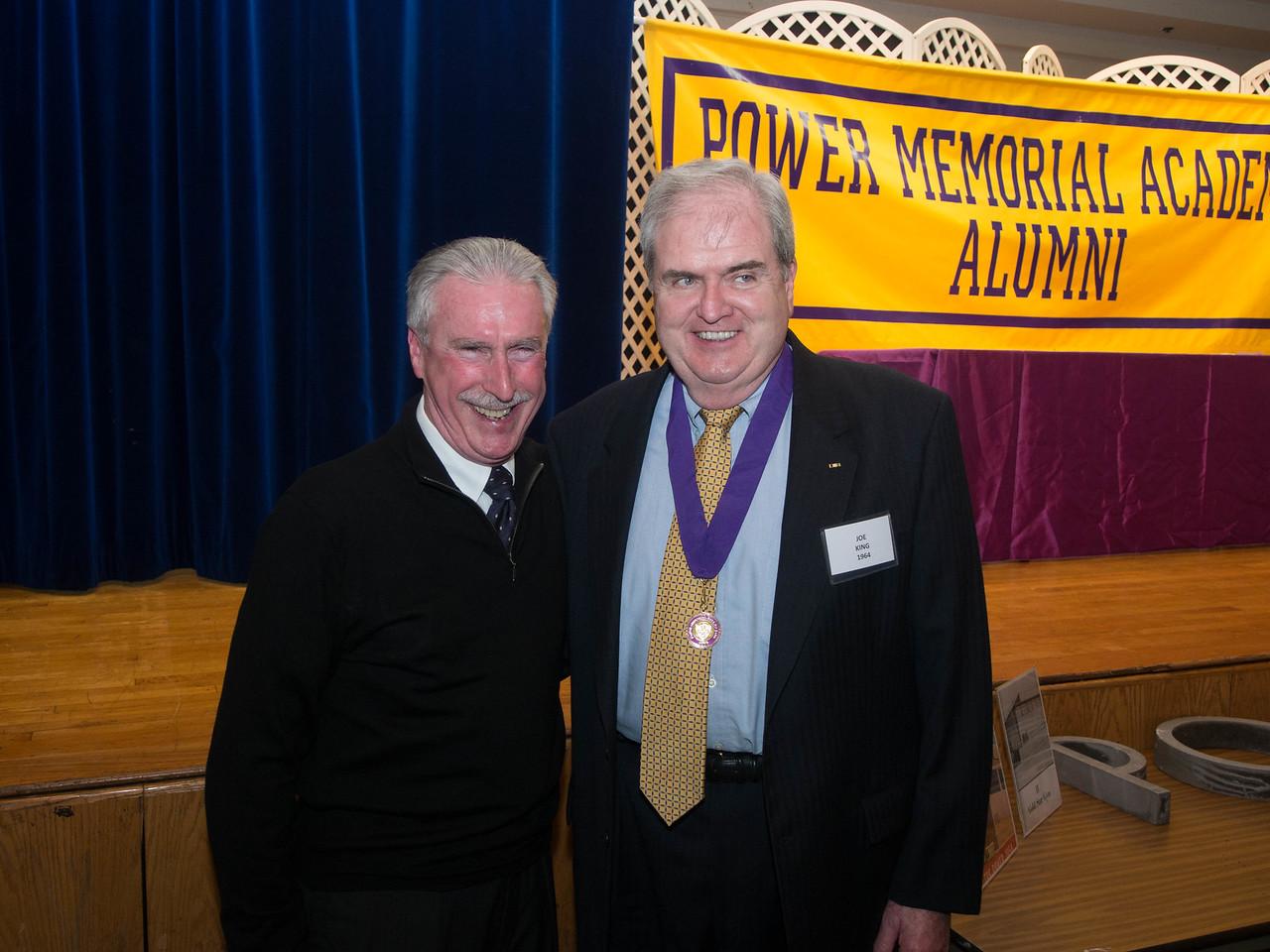 Bill Gleeson '64 and Joe King '64