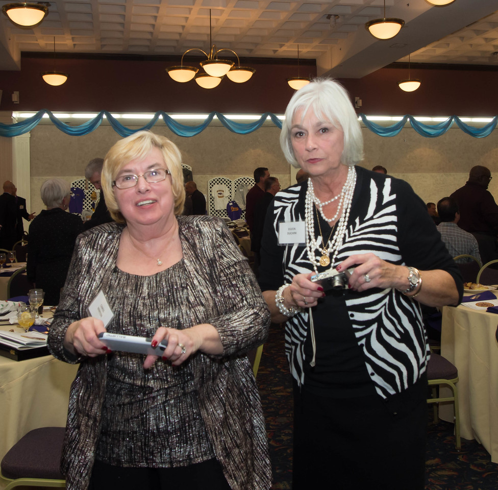 Carol Minton and Eileen Duchini