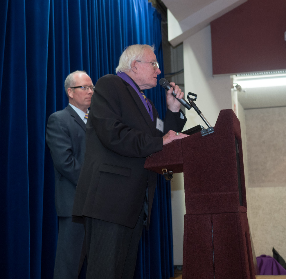 Mike Kelly remarks about Bro. Delaney