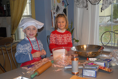 Cookie Baking Christmas ' 07