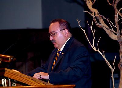 Chick Pisani, PMAAA President, PMA '70