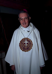 Bishop  Gerry Walsh, PMA '59 was the Primary Celebrant (He is wearing the vestments given to him at his induction into the PMA Hall of Fame.)