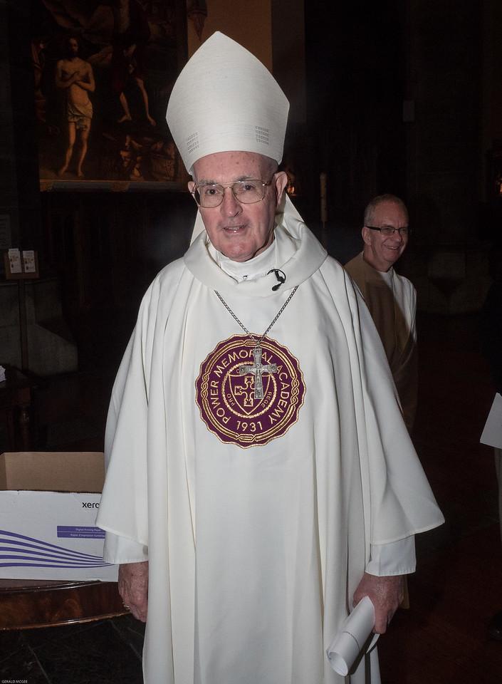 Mass Celebrant Bishop Gerald Walsh, PMA Class of 1959
