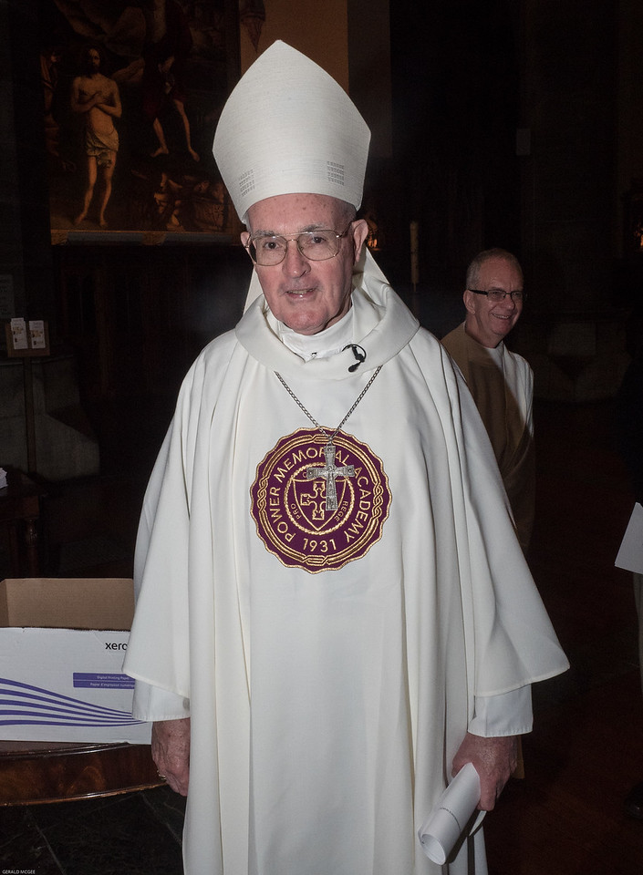 Mass Celebrant Bishop Gerald Walsh, PMA Class of 1959