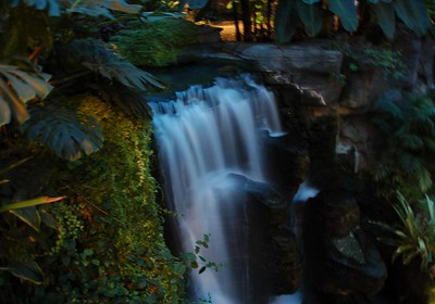 Waterfall inside the Opryland Hotel