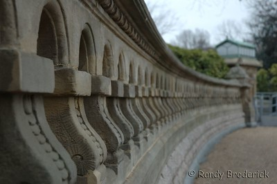 Stone wall in front of the U.S. Capital Building