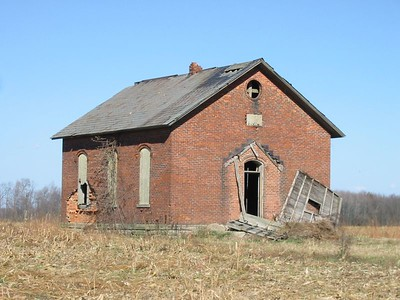 Schoolhouse--London West Rd.--Shelby, OH