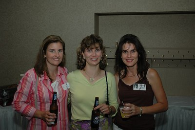 Nora Walsh, Julie Hartings, Michelle Biglin