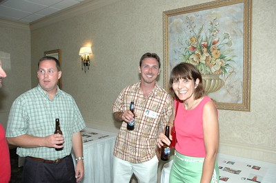 Jeff Murray, John Ensman, Amy (Oesch) Murray