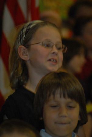 Maddie's Spring Concert first grade