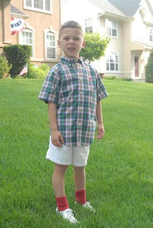 owen's pre-school graduation