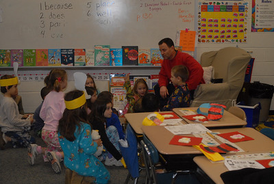Reading Day at NA - Maddie's Class '08