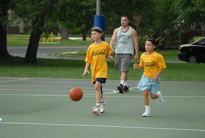 Moorestown B-Ball team Penn Summer 2009