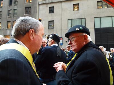 Ed O'Keefe, PMA '61 and Mike Kelly PMA '55