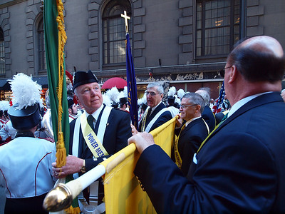 Jack Haren, PMA '65,  had the Irish flag.