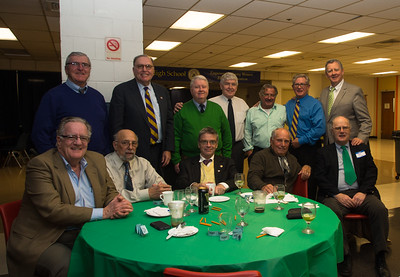 Calls of 1961: Seated: Joe Cosenza, Al Caldiero, John Early, Peter Kerwin, Gerry McGee, top row: Rich Deneen, Fred Russell, Bill Conry, Tom Madden, Bob Dill, Mike Lynch and Jim Collins