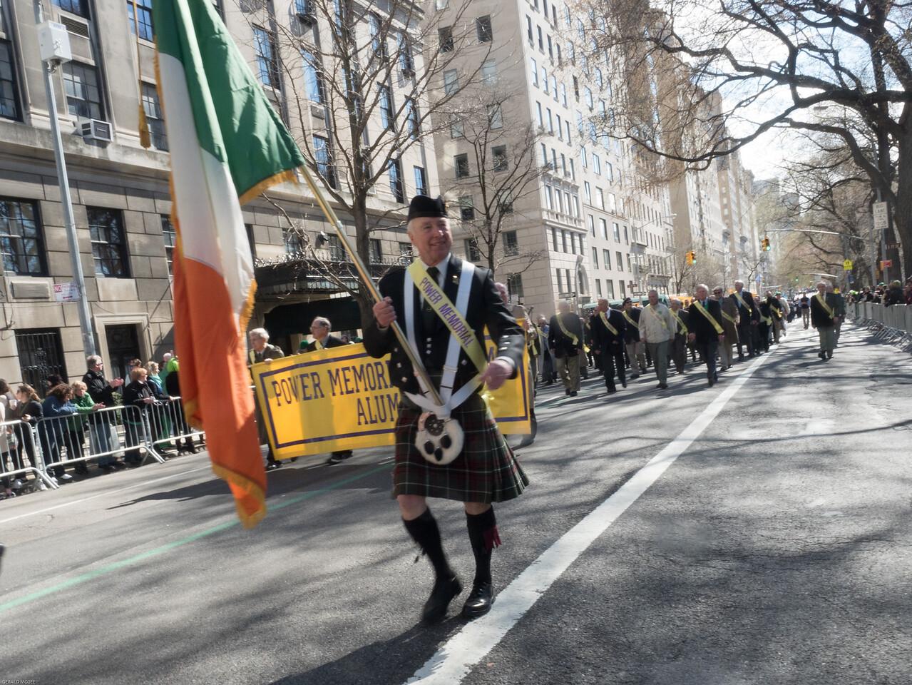 Jack Haren and the Irish Flag