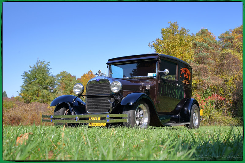 The next 8 photographs are of Ed Fitz's 1929 Ford Coup!