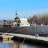 One of the last PT boats is docked in Kingston NY. Note the 4 mounted machine guns!