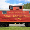 Catskill Mountain Railroad Caboose.