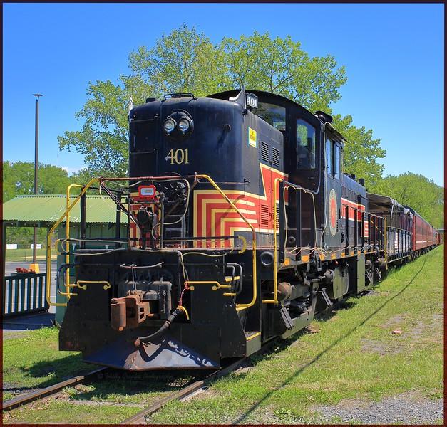 Catskill Mountain Railroad 5/2016 Kingston NY.