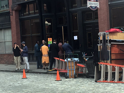 Movie being filmed on Middle Street