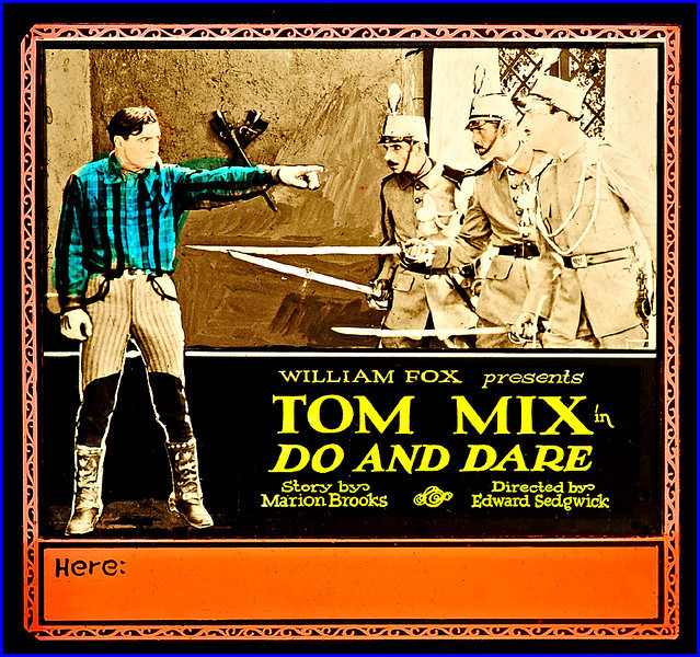"""Do and Dare (1922) <br /> <br /> Synopsis: """"When Henry Boone hears his grandfather's stories of his youth as a pioneer and scout, he is gripped by the fires of romance and decides to hunt adventure. Boone finds himself in an airplane carrying a military message to a leader of a revolution in a South American country. He is arrested as a spy but escapes and saves the ruler's daughter from the revolutionaries."""" - <a href=""""http://www.tcm.com/tcmdb/title.jsp?stid=494453"""">http://www.tcm.com/tcmdb/title.jsp?stid=494453</a>"""