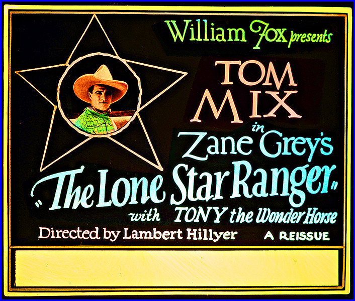 """The Lone Star Ranger (1923) <br /> <br /> Synopsis: """"An outlaw named Duane, captured by the Texas Rangers, is promised a pardon if he rounds up a gang of cattle thieves. The man he suspects as the leader is revealed to be the father of Duane's sweetheart, Helen. Duane captures the gang, gets a pardon for Helen's father, and marries Helen."""" - <a href=""""http://www.tcm.com/tcmdb/title.jsp?stid=496113"""">http://www.tcm.com/tcmdb/title.jsp?stid=496113</a>"""