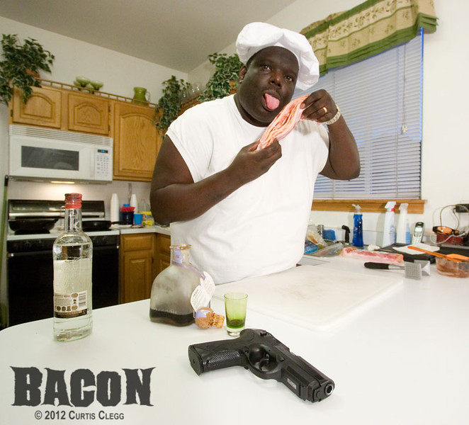 """Filming of """"Bacon"""""""