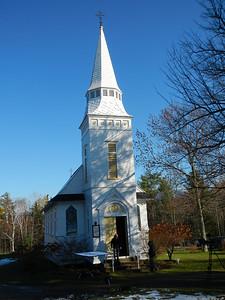 St. Matthew's Episcopal Church, a very small church!