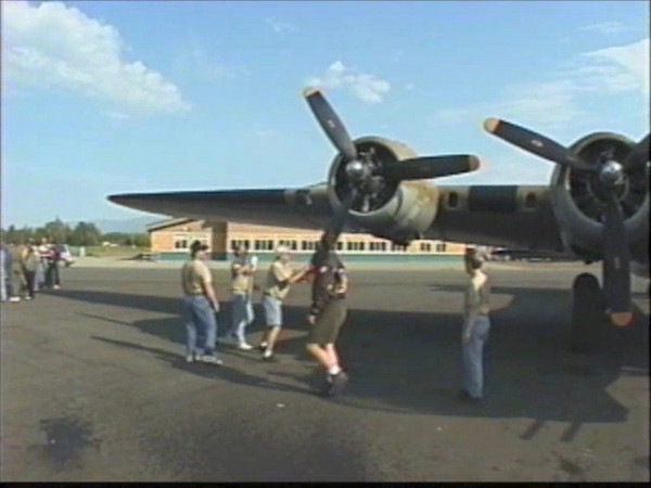 B17 skydive