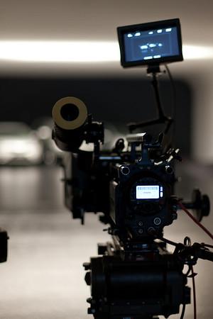 "Dreharbeiten KIA ""Raketenstart"", Studio Dernbach"