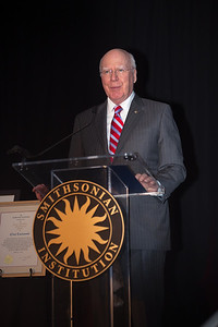 U.S. Senator Patrick Leahy (D-VT) at a special ceremony marking the opening of the new Warner Bros. Theater at the National Museum of American History in Washington DC, the Smithsonian presented Clint Eastwood with the James Smithson Bicentennial Medal in honor of Eastwood's contribution to the American Experience through film. (Photo by Jeff Malet)