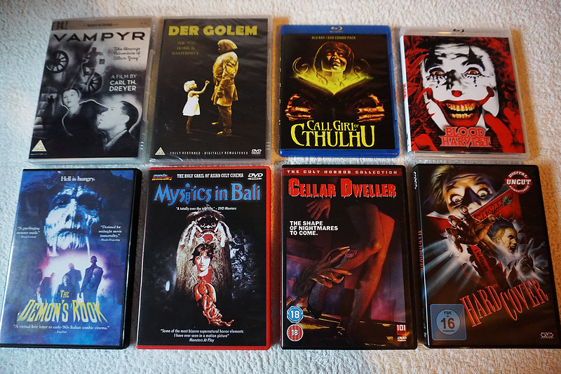 "Check out  <a href=""http://www.horrorghouls.com"">http://www.horrorghouls.com</a> for upcoming reviews!"