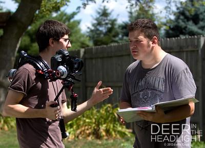 """Filming of """"Deer in the Headlight"""""""