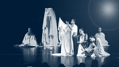 """BACCHAE""(VAKHES) of Euripides from the Theatre Scheme of Leonidas Loizides"