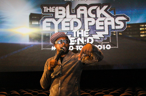 Black Eyed Peas Fan Fest - L.A. Live