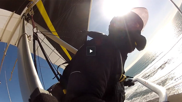 FORT FUNSTON NATIONAL PARK, HANG GLIDING