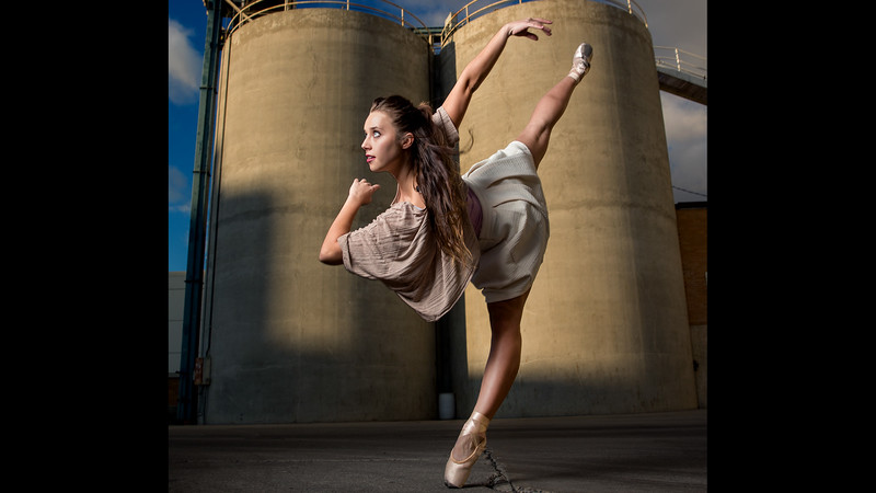 2015 BYU Theatre Ballet - Power Plant Shoot