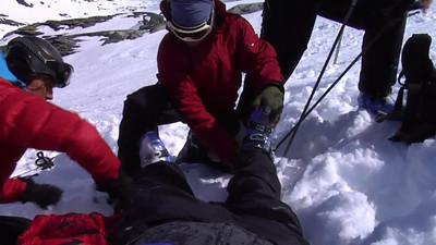 Behandling av skadd person på ski i høyfjellet del 3