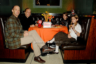 Anthony Edwards, Avner Hershlag, Bailey Edwards and Esme Edwards