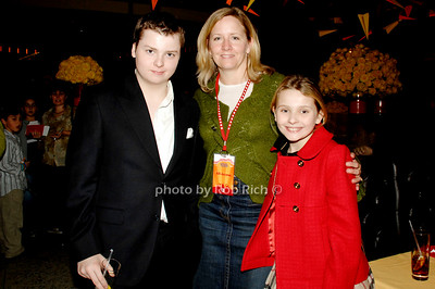 Spencer Breslin, friend and Abigail Breslin