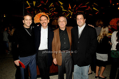 Aaron Zigman, Peter Max, Jerry Gladstein and Richard Gladstein