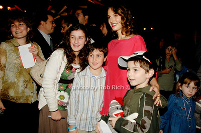Rina Schiller, Eitan Schiller, Natalie Portman and Yonatan Schiller